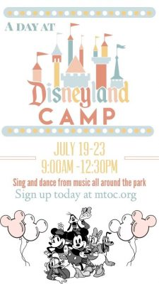 """Theater Camp:  """"A Day at Disneyland"""""""