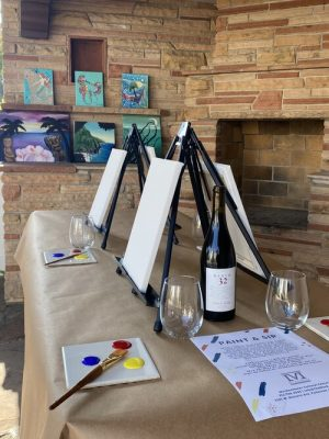 Paint & Sip at the Muck