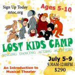 Intro to Musical Theater Camp