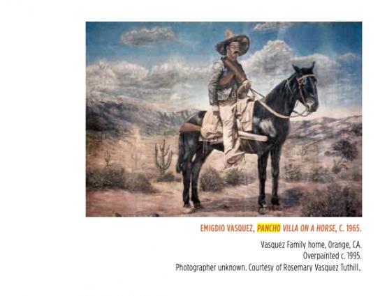 Pancho Villa on a Horse