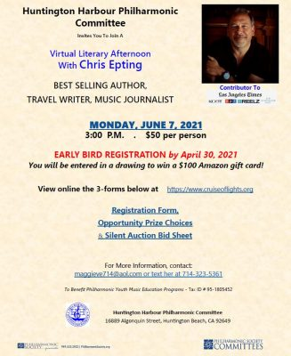 Virtual Literary Afternoon With Chris Epting
