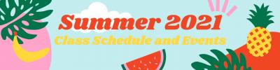 Summer Classes at HBAC