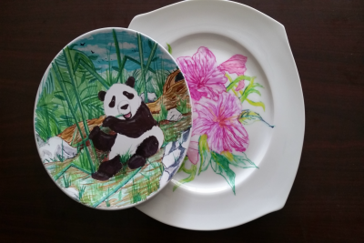 Ceramic Plate Kits with  Anne's Treasures