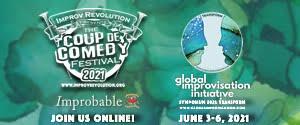 Ad for Coup de Comedy Festival