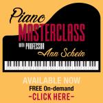 Piano MasterClass On-Demand