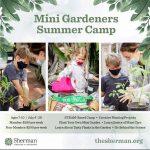 Sherman Gardens:  Mini Gardeners Summer Camp