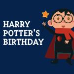 Pretend City:  Harry Potter's Birthday