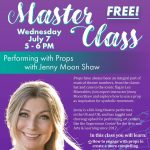 Master Class: Performing with Props
