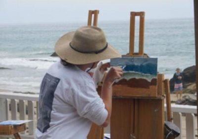 Crystal Cove:  Plein Air Painting