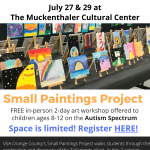 Art Workshop for Students on the Autism Spectrum