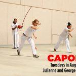 Argyros Plaza:  Capoeira Dance