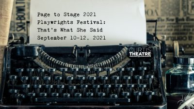 Brea:  Page to Stage Playwrights Festival