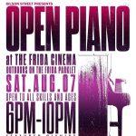 Open Piano Night at Frida Cinema