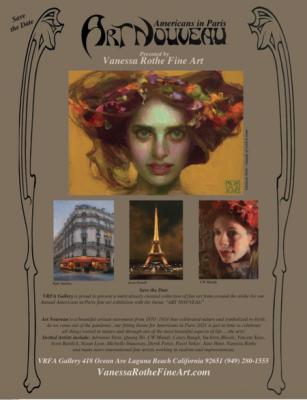 Americans in Paris, Art Nouveau