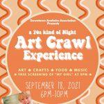 Anaheim:  Art Crawl Experience (ACE)
