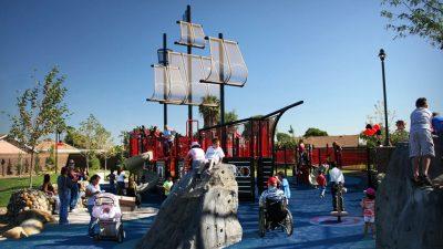 Henry Dotson Park Pirate Ship