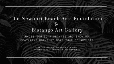 Dining as Art: Newport Beach Arts Foundation Priva...