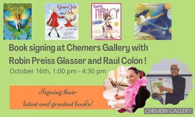 Book Event:  Robin Preiss Glasser & Raúl Colón