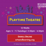 Playtime Theatre (Ages 5-7)