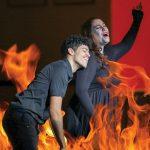Opera en fuego