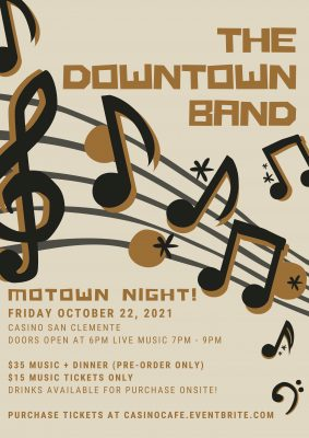 Motown Night at the Casino San Clemente