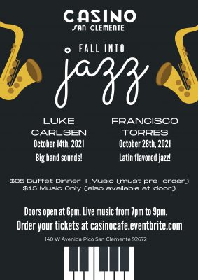 Jazz Night at the Casino San Clemente