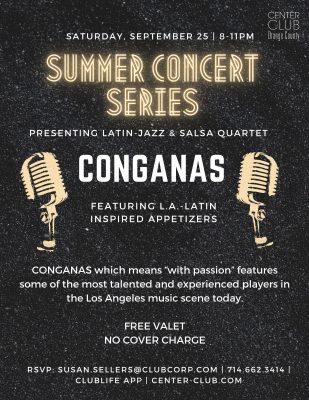 Conganas Quartet:  Latin Jazz & Salsa