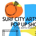 Surf City Arts Fest Pop Up Shop