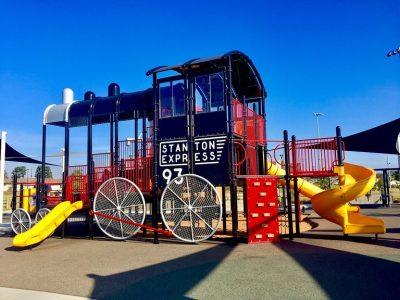 Stanton Central Park Playground Train