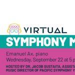 Live Symphony Mixer with Emanuel Ax
