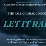 OCSA's Classical Voice Conservatory: Fall Choral Concert