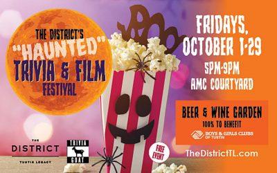 Tustin:  Haunted Trivia & Film Fest