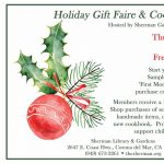 Sherman Gardens: Holiday Gifts & Book Launch