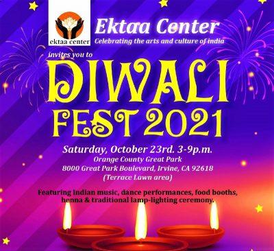Irvine:  Diwali Fest 2021