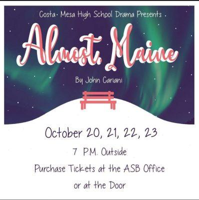 Costa Mesa HS Drama:  Almost, Maine