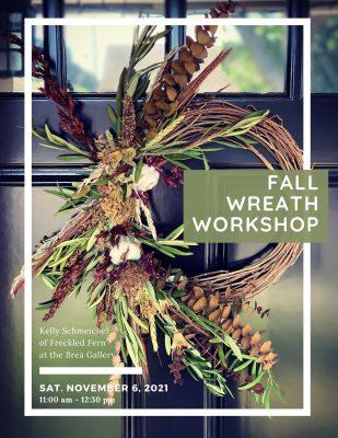 Fall Floral Wreath Workshop