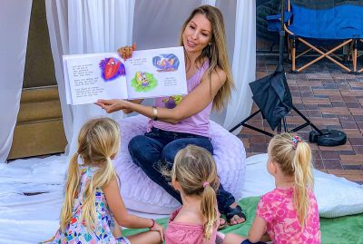 Bowers Storytime:  Coco the Chameleon