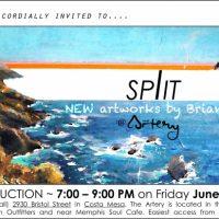 Split Exhibition Opening & Silent Auction