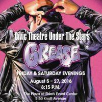 "Civic Theatre presents ""Grease"""