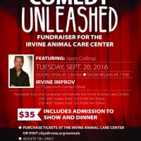 Comedy Unleashed: Fundraiser for the Irvine Animal Care Center