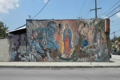 The Image of the Virgin of Guadalupe by Contemporary La Chicano Artists