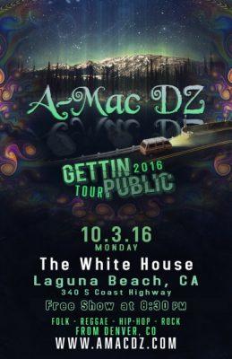 A-Mac DZ @ The White House