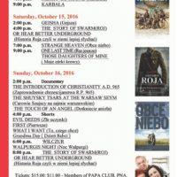 Polish Film festival In Orange County @ Regency South Coast Plaza