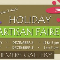 3rd Annual Holiday Artisan Faire