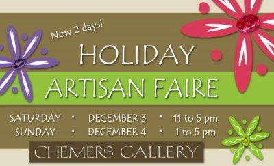 3rd Annual Holiday Artisan Faire