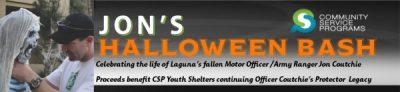 Laguna Beach Fallen Officer Jon Croutchie's Halloween Bash