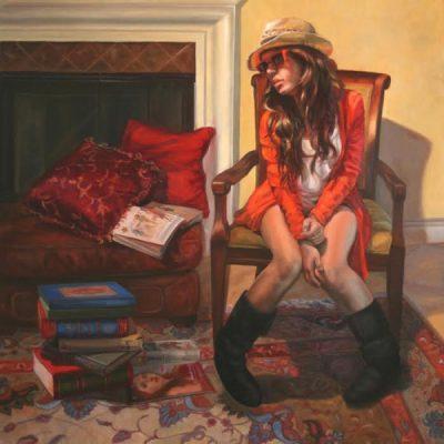 Oil vs. Acrylic Challenge Artist Reception