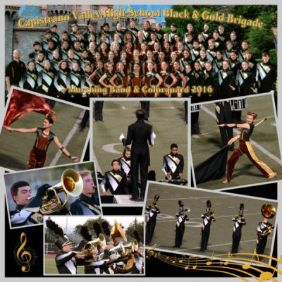 CA State Semi-Final High School Marching Band Field Show Competition