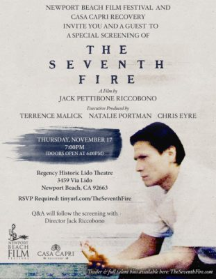 Free screening of 'The Seventh Fire' + Q&A with director Jack Pettibone Riccobono