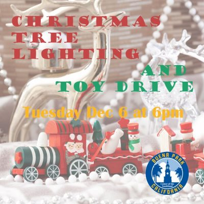 4th Annual Christmas Tree Lighting and Toy Drive